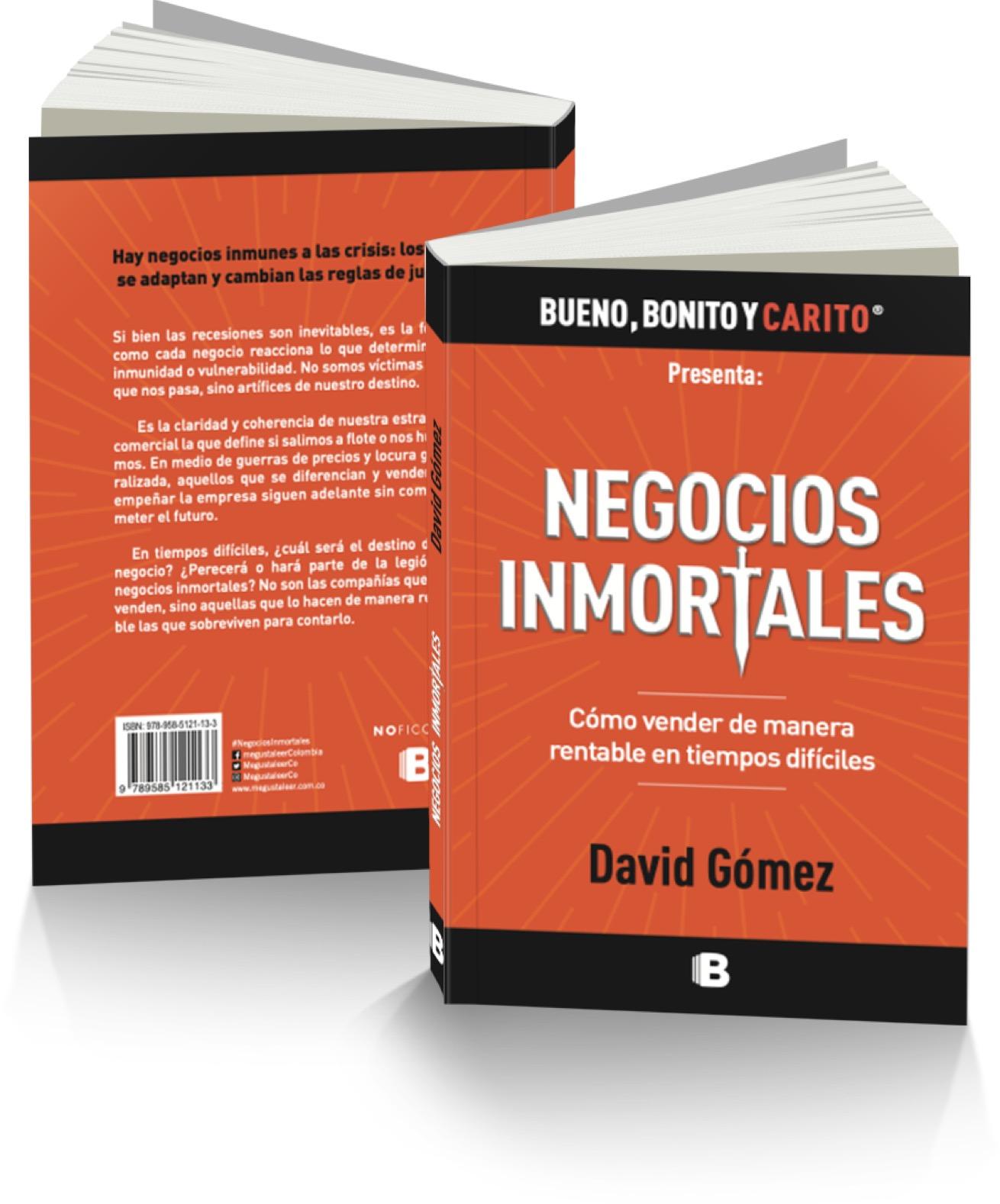 Libro impreso Negocios Inmortales
